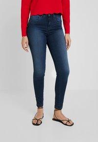 Benetton - Jeans Skinny Fit - dark denim - 0