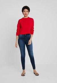 Benetton - Jeans Skinny Fit - dark denim - 1