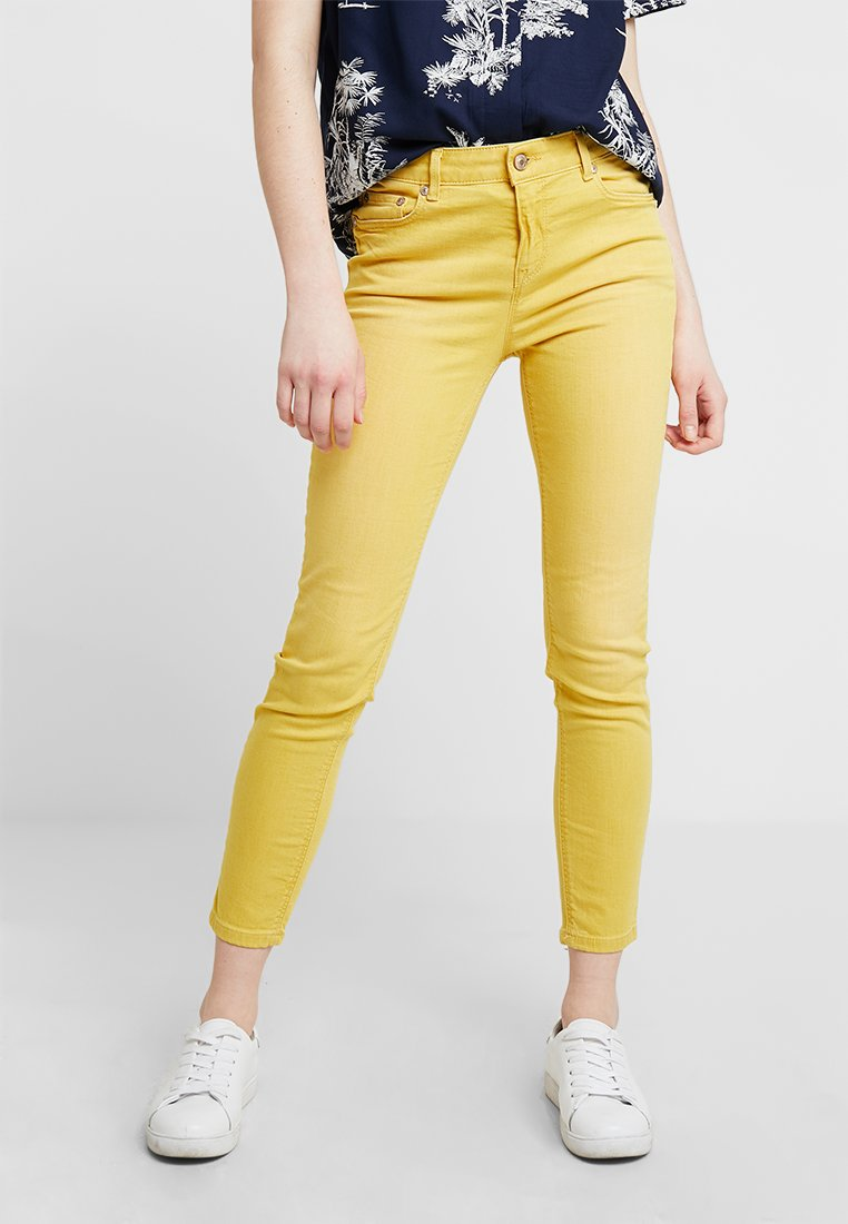 Benetton - COLOUR  - Jeans Skinny Fit - yellow