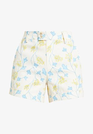 CITY FLORAL PRINT - Shorts - cream