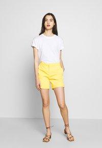 Benetton - BERMUDA - Shorts - yellow - 1