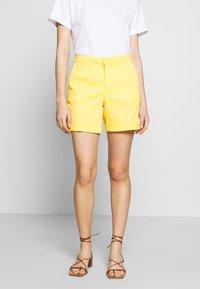 Benetton - BERMUDA - Shorts - yellow - 0