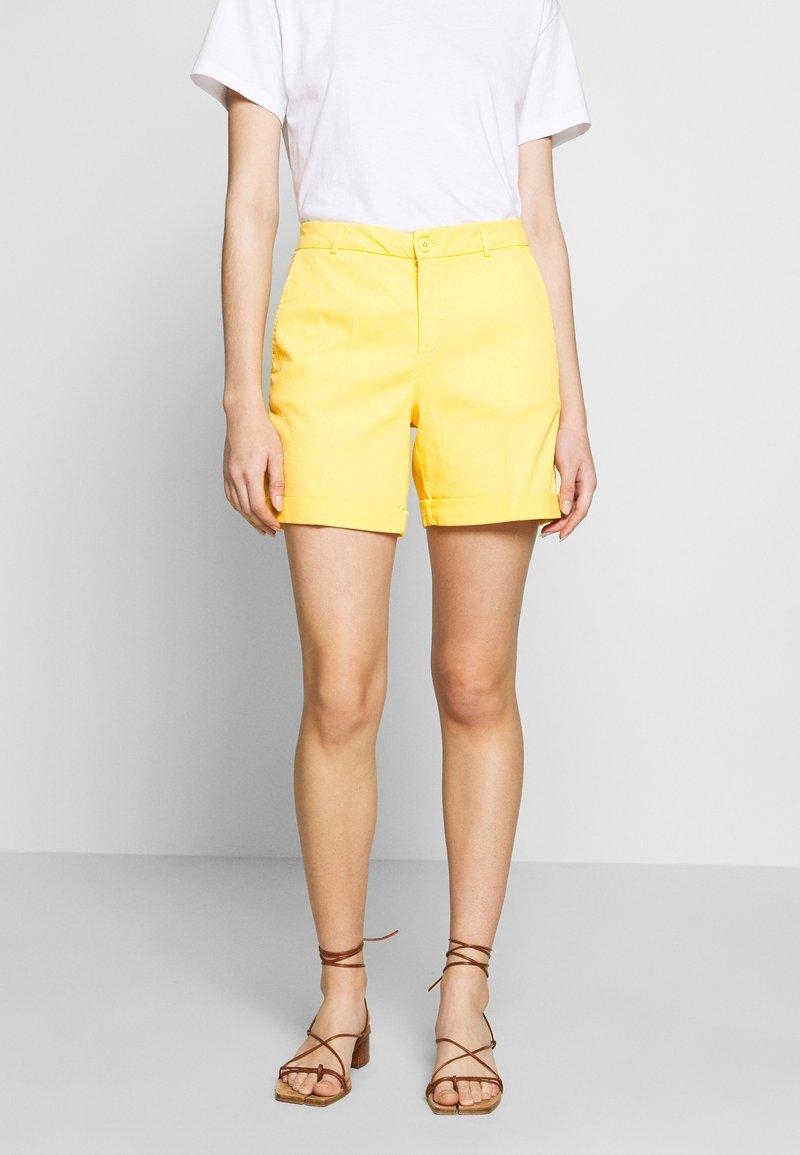 Benetton - BERMUDA - Shorts - yellow