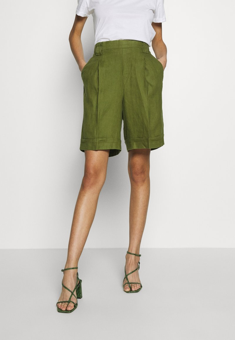 Benetton - BERMUDA - Shorts - khaki
