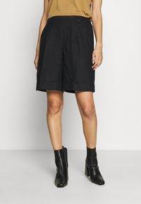 Benetton - BERMUDA - Shorts - black - 0