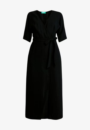 WRAP OVERALL - Jumpsuit - black
