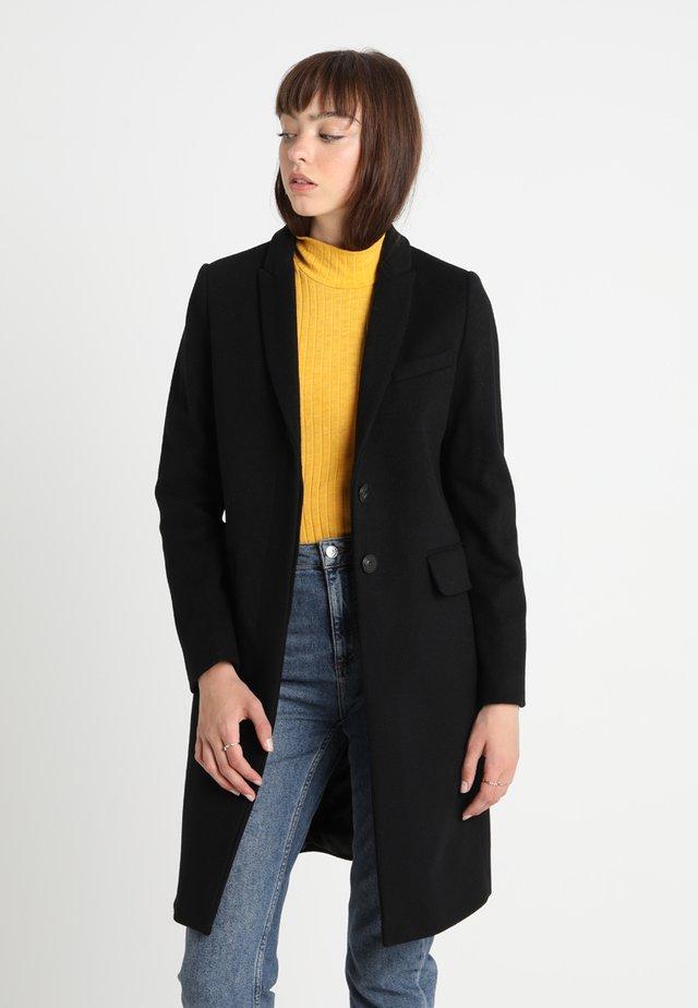 CLASSIC TAILORED COAT - Mantel - black