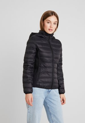 HOODED JACKET - Dunjacka - black