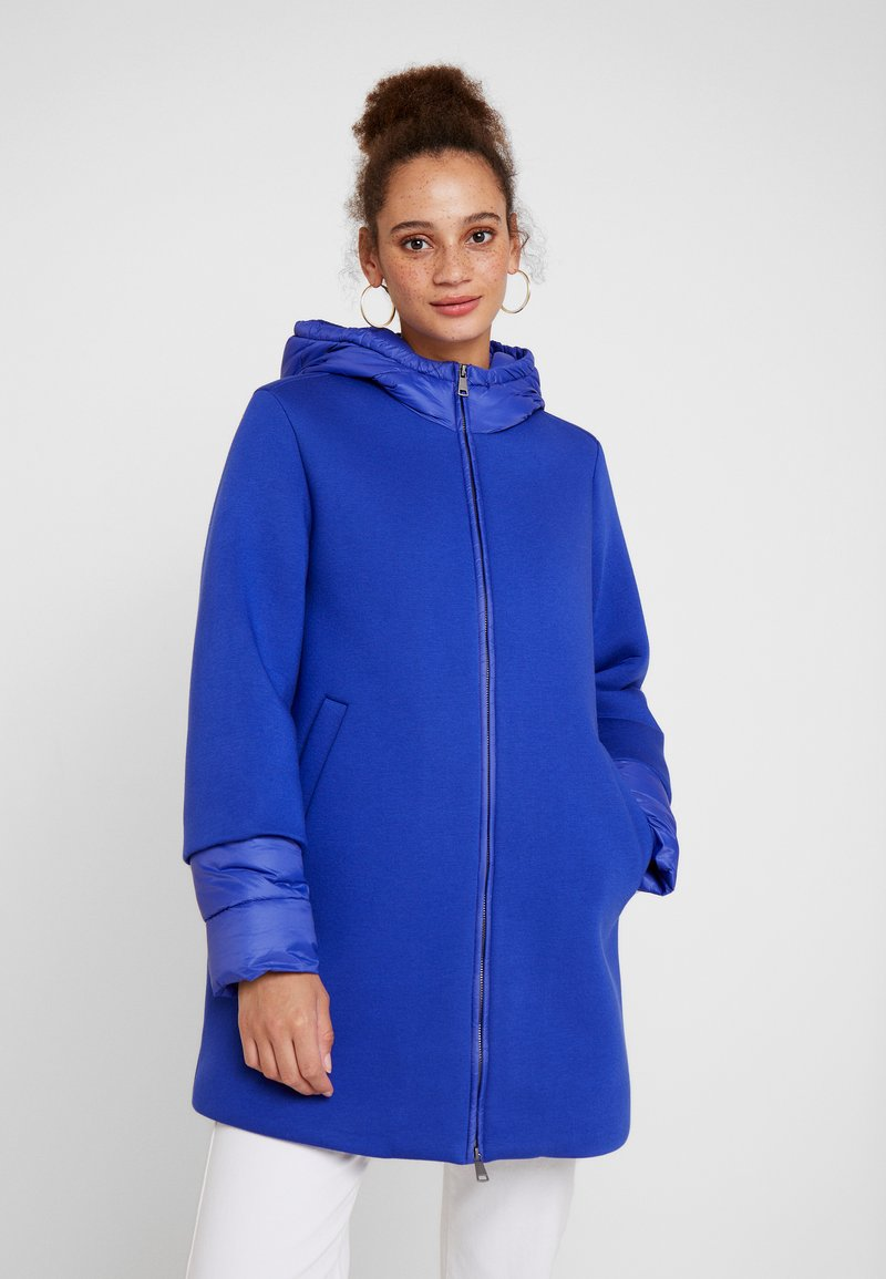 Benetton - FELT LINED - Parka - blue