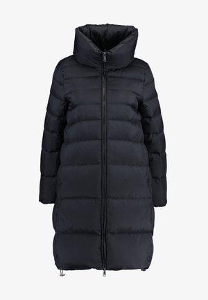 OVERSIZED LONG COAT - Daunenmantel - black