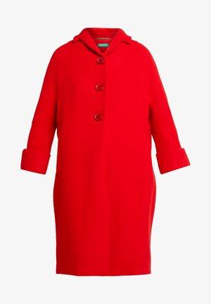 COCOON COAT - Mantel - red