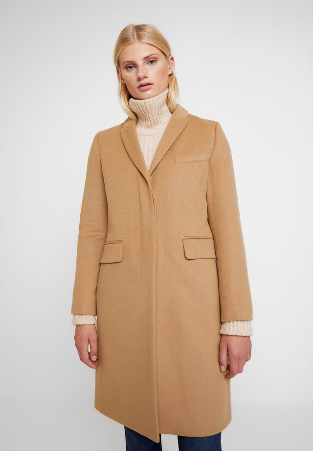 CLASSIC TAILORED COAT - Wollmantel/klassischer Mantel - camel