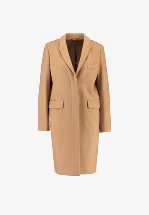 CLASSIC TAILORED COAT - Płaszcz wełniany /Płaszcz klasyczny - camel