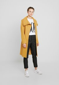 Benetton - COAT - Mantel - mustard - 1