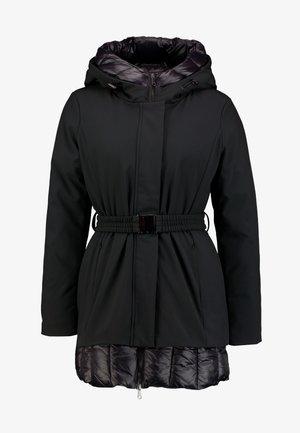 HEAVY JACKET - Zimní kabát - black