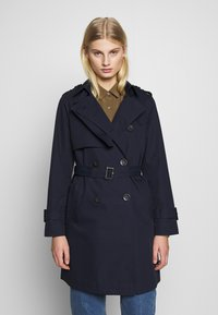 Benetton - TRENCH COAT - Trench - navy - 0