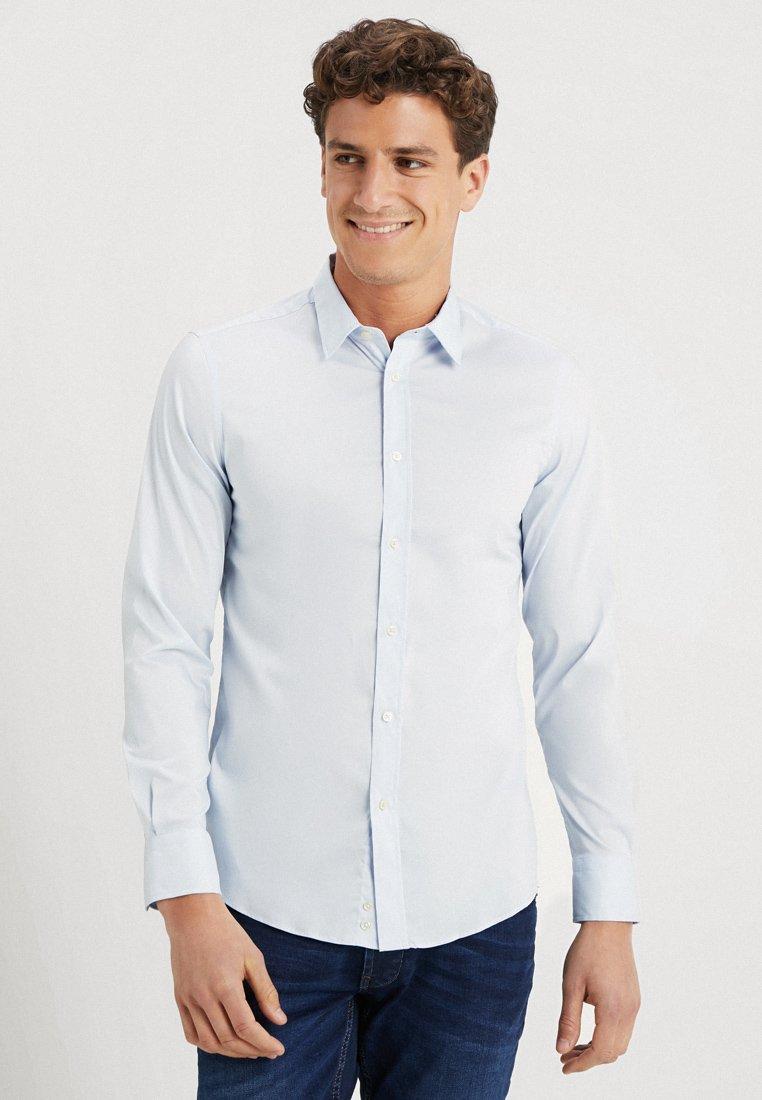 Benetton - Overhemd - light blue