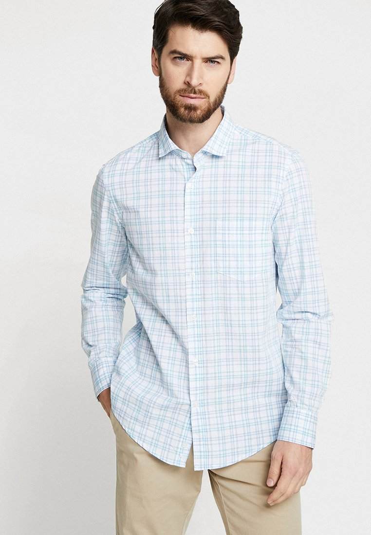 Benetton - Shirt - blue/light blue