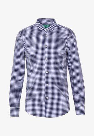 CHECK SHIRT - Camicia - dark blue