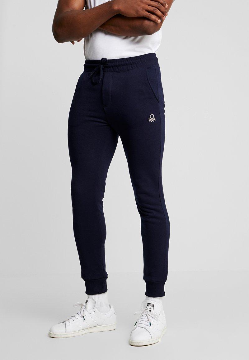 Benetton - Teplákové kalhoty - dark blue