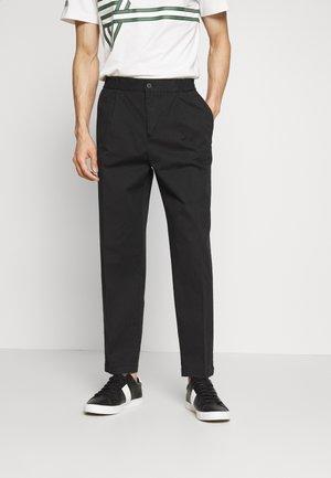 MODERN SUMMER - Chino kalhoty - black