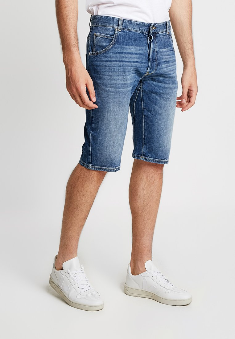 Benetton - Jeans Shorts - denim blue