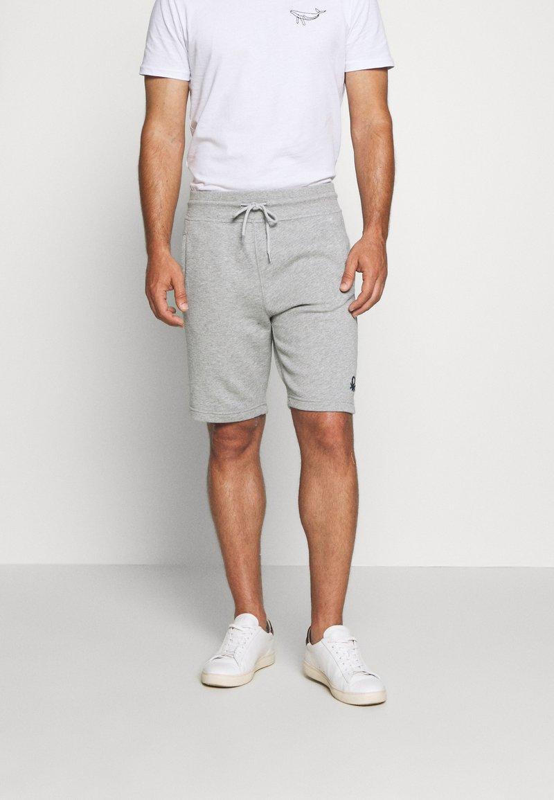 Benetton - Shorts - light grey