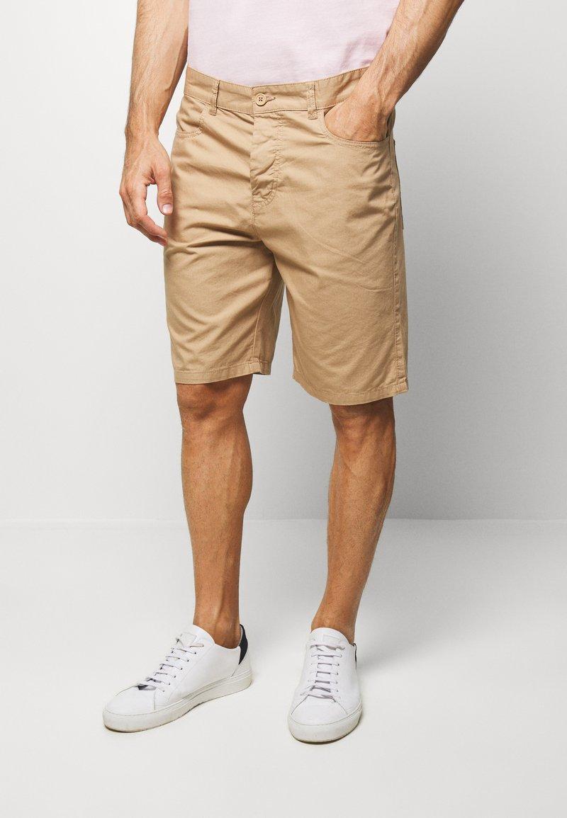 Benetton - BASIC CHINO - Shorts - beige
