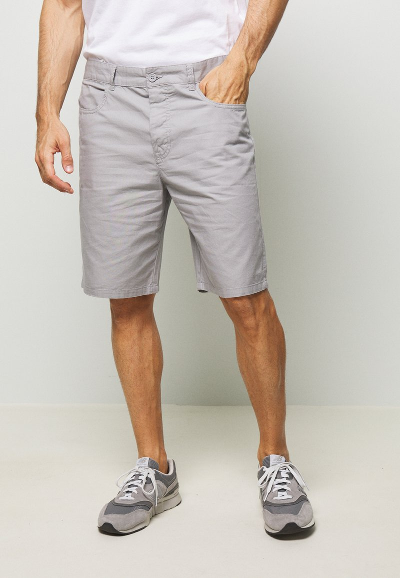 Benetton - BASIC CHINO - Shorts - grey