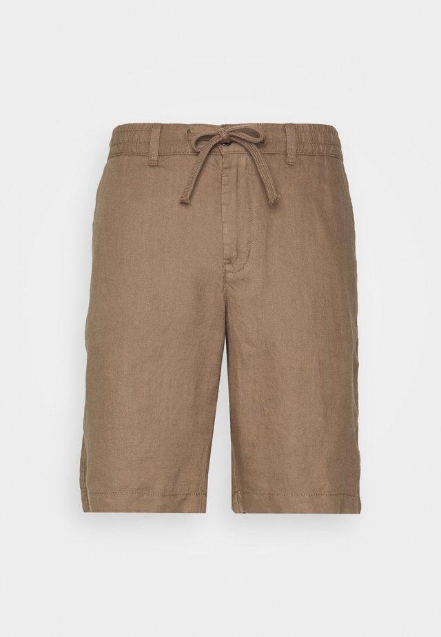 BERMUDA LINO - Shorts - beige
