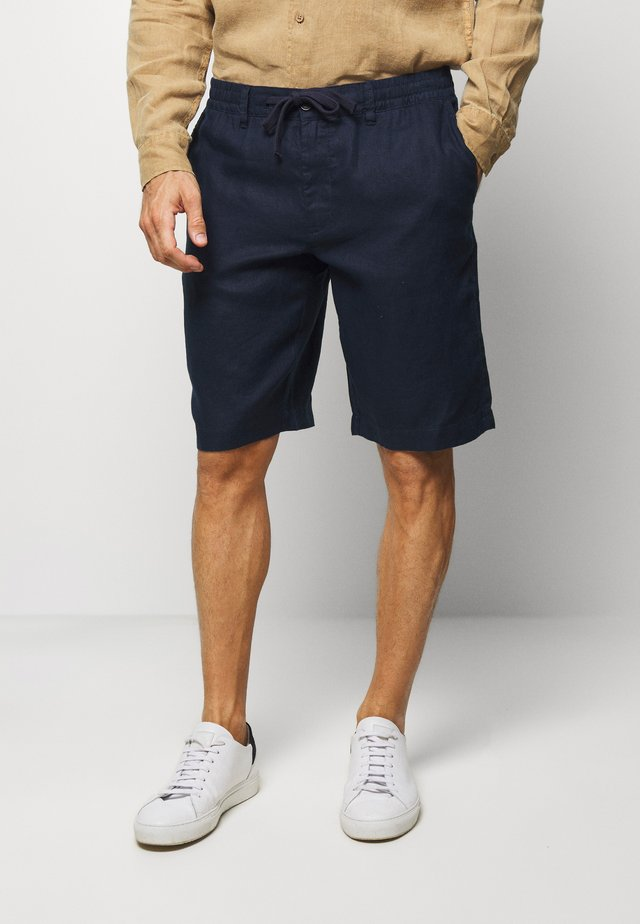 BERMUDA LINO - Shorts - dark blue