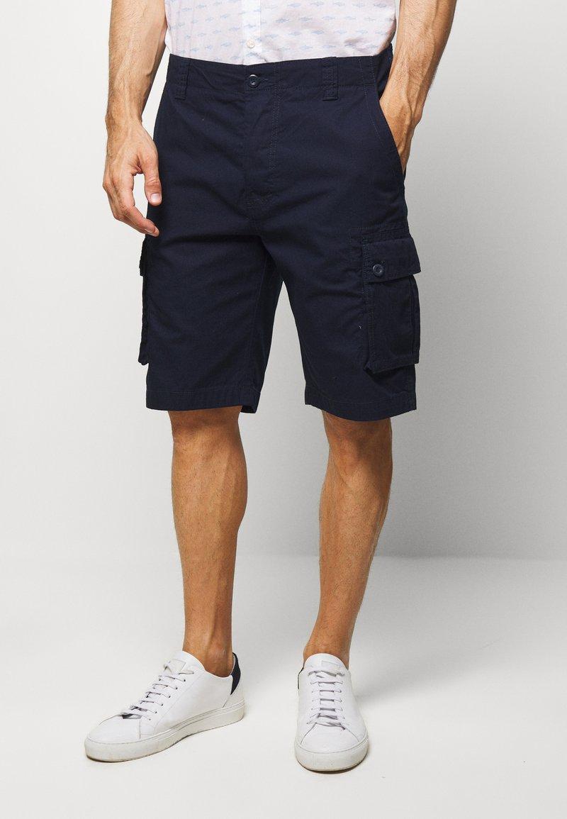 Benetton - CARGO - Shorts - dark blue