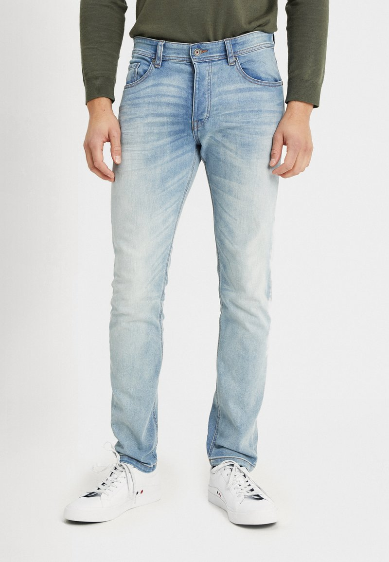 Benetton - Jeans Slim Fit - washed light denim