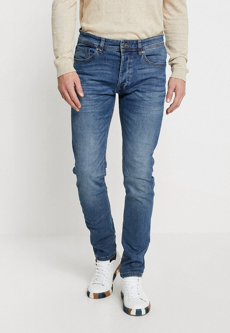 Benetton - Jeans Slim Fit - blue denim
