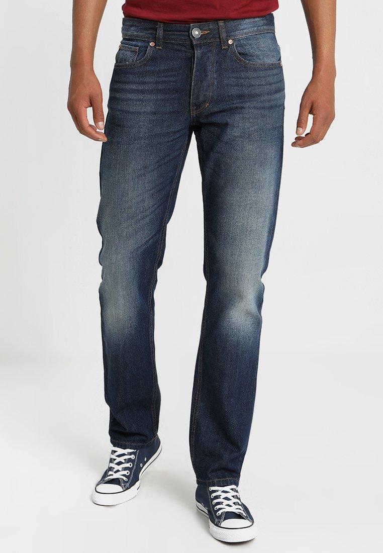 Benetton - Jeans Straight Leg - dark blue denim