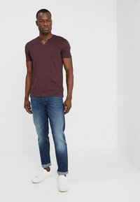 Benetton - Straight leg jeans - dark blue denim - 1