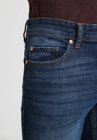 Benetton - Straight leg jeans - dark blue denim - 3