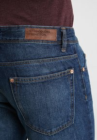 Benetton - Straight leg jeans - dark blue denim - 5