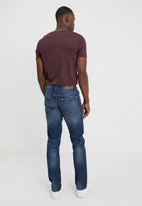 Benetton - Straight leg jeans - dark blue denim - 2
