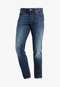 Benetton - Straight leg jeans - dark blue denim - 4