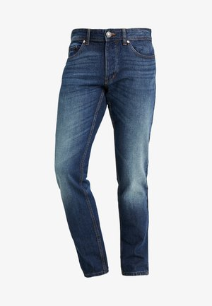Jeansy Straight Leg - dark blue denim