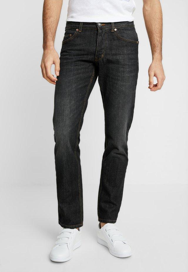 Straight leg jeans - anthrazit