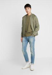 Benetton - Jeans slim fit - washed light denim - 1