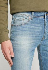 Benetton - Jeans slim fit - washed light denim - 3