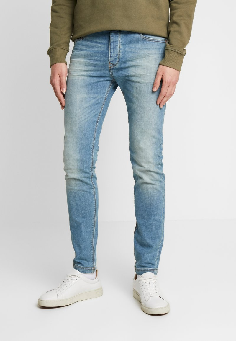 Benetton - Jeans slim fit - washed light denim