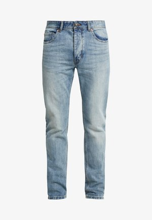 Jeans straight leg - washed light denim