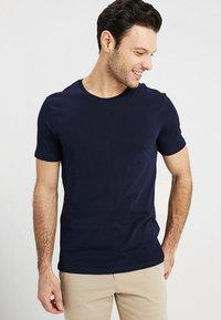 Benetton - T-shirt basic - navy - 0