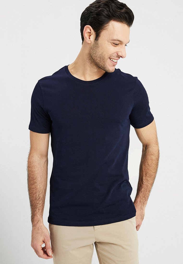 Benetton - T-Shirt basic - navy
