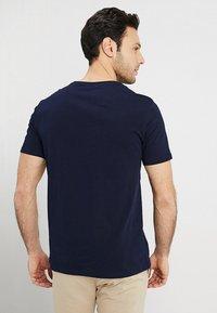Benetton - T-shirt basic - navy - 2