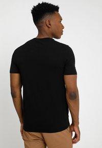Benetton - T-shirt basic - black - 2